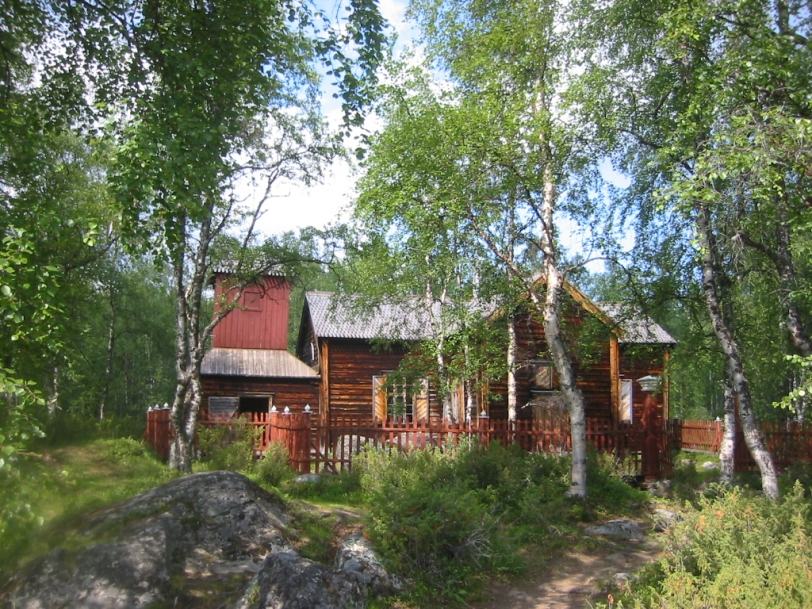Piepaljärvi Wilderness church.